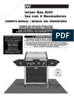 Brinkmann Gas Grill Manual