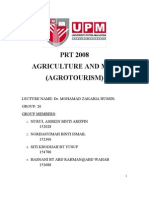 Agriculture and Human(Agriturism)