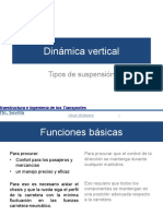 Dinamica Vertical-tipos de Suspencion