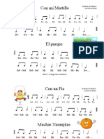 Canciones para Primaria - 2da parte