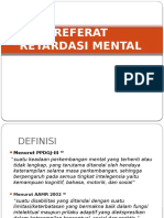 Slide Referat Retardasi Mental