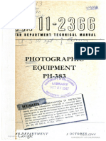 TM11-2366 Photographic Equipment PH-383 1944