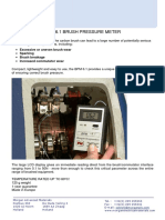 Morgan - Bruss Pressure Meter
