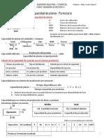 f4 Formulario Capacidad de Planta