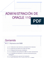 Adminis Traci on Oracle Unidad 2