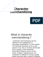 5.Character Merchandising Ppt