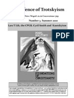 Lars T Lih, The CPGB and Kautskyism