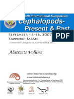 Seventh International Symposium Cephalopods. Present and Past. September, 2007. Abstract Volume