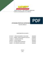 Aps Engenharia Unip III Semestre - Carro