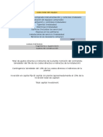 Ing.proyectos Trabajo Costos