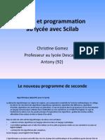 Calcul Et Program Mat Ion Scilab