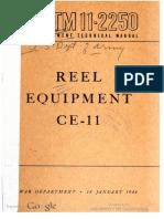 TM11-2250 Reell Equipment CE-11