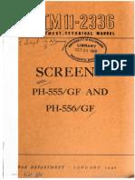 Tm11-2336 Screens Ph-555 Gf and Ph-556 Gf