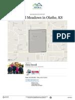 Bradford Meadows Neighborhood Real Estate Report