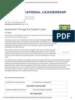 stigginsarticle assessment for learning