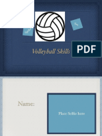 volleyball skills-mrs  batey
