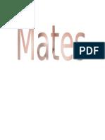 sTAPA MATES.doc