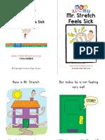 Mr Stretch Sick Book Level0 Dju