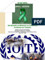 Dia Mundial Em Memória Às Vítimas de Acidentes