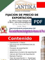 Fijación Del Precio de Exportación, PROM PERU