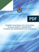 Redhum GT Informe Situacional Sistemas Agua Potable Chiquimula CONRED-20160222-IC-17772