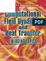 (Developments in Heat Transfer) R. S. Amano, R. S. Amano, B. Sunden-Computational Fluid Dynamics and Heat Transfer_ Emerging Topics-WIT Press (2010) (1)