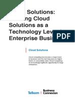 Cloud SolutionsWP V2.1 EVersion