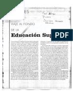 Viaje Al Fondo de La Educacion Superior