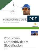 Planeacion de La Produccion - Tema 1