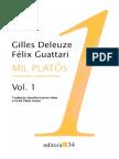 Gilles Deleuze & Felix Guattari - Mil Platôs Vol. 1