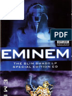 Eminem - Scan Booklet_ the Slim Shady LP (Special Edition)