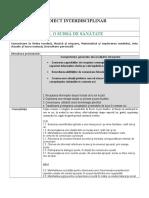 Proiect interdisciplinar - FRUCTELE