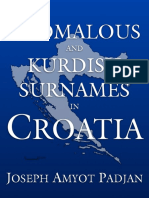 Anomalous and Kurdish Surnames in Croatia