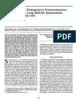 Treatment of 27 Postoperative Enterocutaneous Fistulas With the Long Half-life Somatostatin Analogue SMS 201-995.