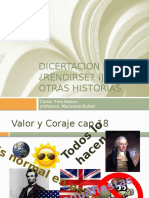 Disertacion Rendirse Jamas