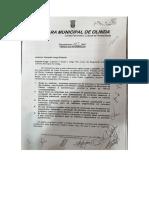 Câmara de Olinda - pedido de informação