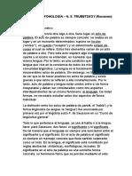 PRINCIPIOS DE FONOLOGÍA (Trubetzkoy) Resumen..docx