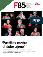 Revista Medicos Sin Fronteras MSF85