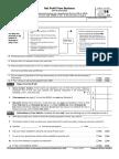 2014 Federal Form 1040 Schedule c Ez Net Profit for Business Sole Proprietorship