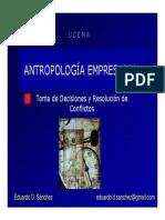 antropología de la empresa