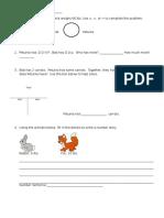 mikaela post test math