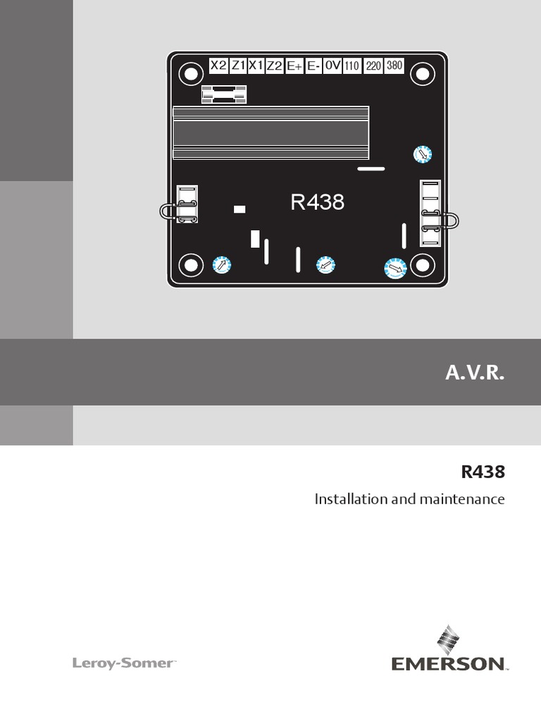 R438 Installation Manual | Power Supply | Force on
