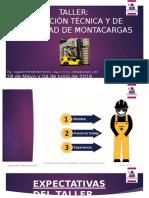 00Presentación - Operación Segura de Montacargas