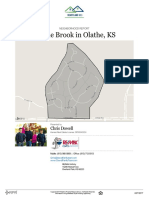 Prairie Brook Neighborhood Real Estate Report