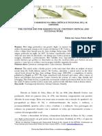 O CENTRO E AS MARGENS NA OBRA CRÍTICA E FICCIONAL DE J. M. COETZEE