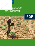 DFID's Approach to the Environment