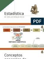 Estadistica 01 Conceptos Generales 2017 Civil