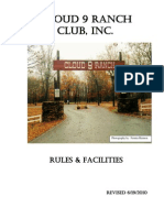 2010 Cloud 9 Rule Book