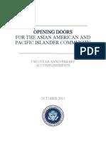 Opening Doors 2-Year Report