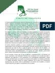 Carta de  Tarapoto - FOSPA 2017